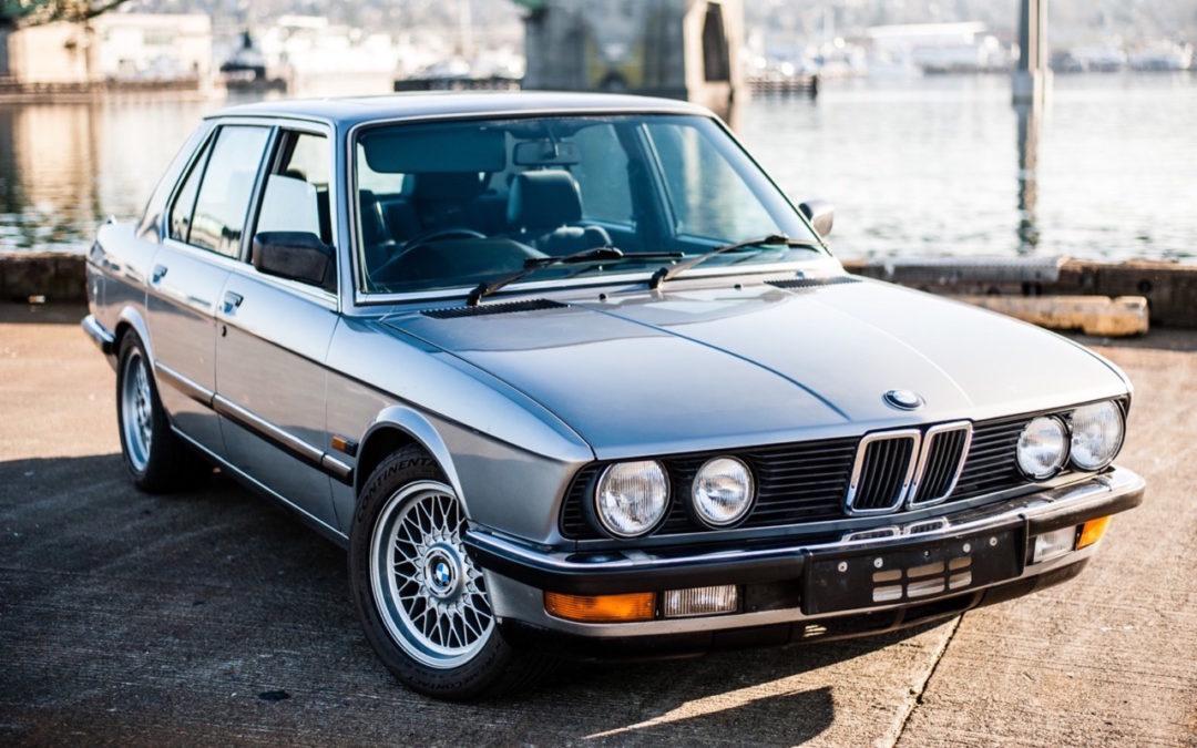 BMW E28 M532i… Greffe d'organe !