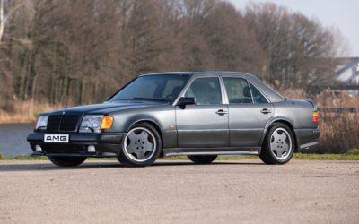 Mercedes 500E AMG 6.0… Autobahn queen !