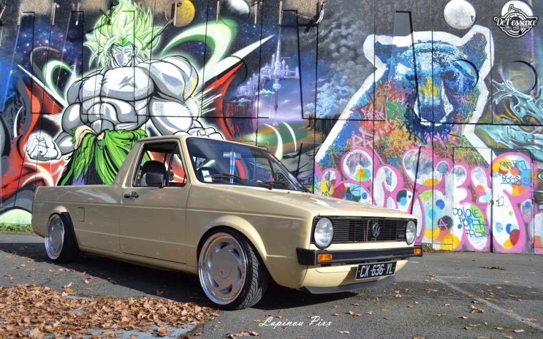 Slammed VW Caddy – Metal, bois et carbone !