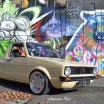 Slammed VW Caddy - Metal, bois et carbone !