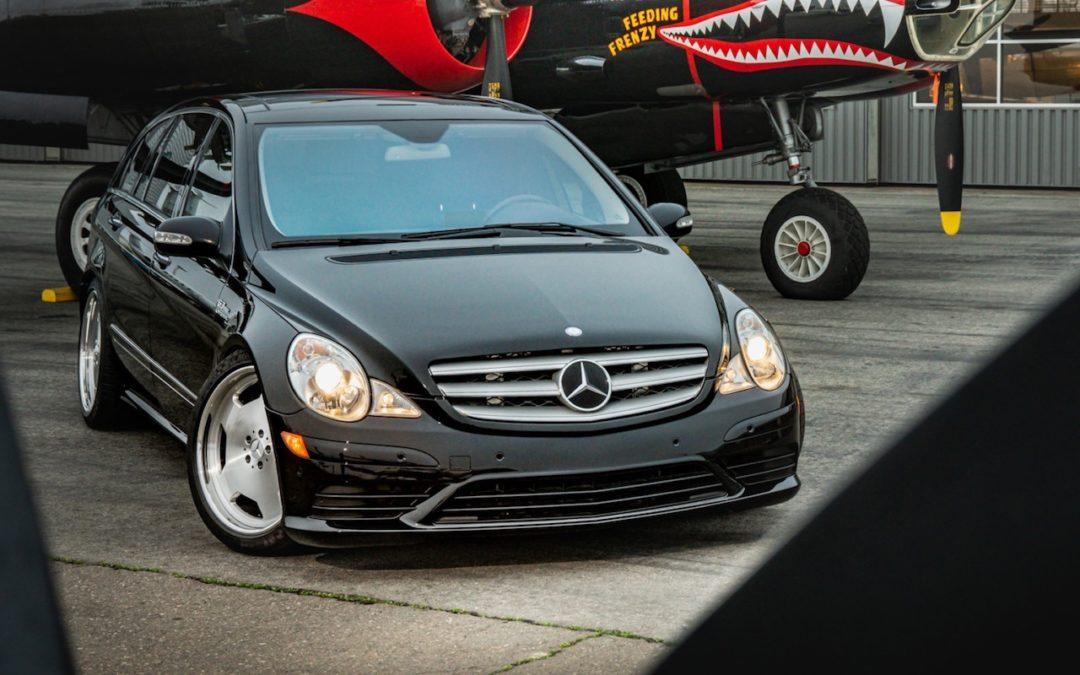 Mercedes R 63 AMG Supercharged… 700 ch pour papa pressé !