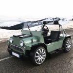 Mini V8M by Lazareth - Moke au gros cœur Italien !