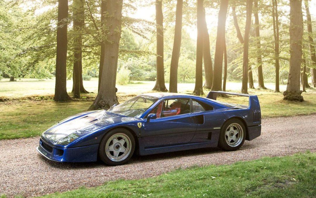 Ferrari F40 – Nel blu dipinto di blu…