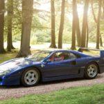 Ferrari F40 - Nel blu dipinto di blu...