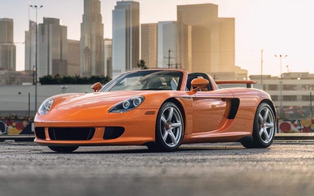 Porsche Carrera GT – La dernière des Mohicannes…