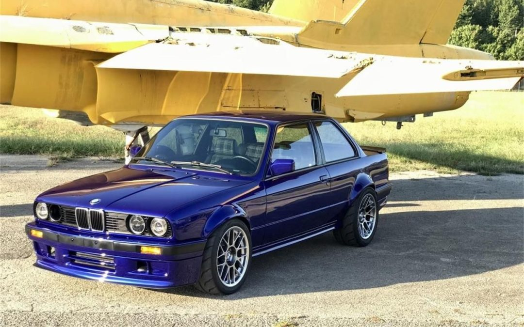 BMW 325i E30 – Turbo et cours de philo ?