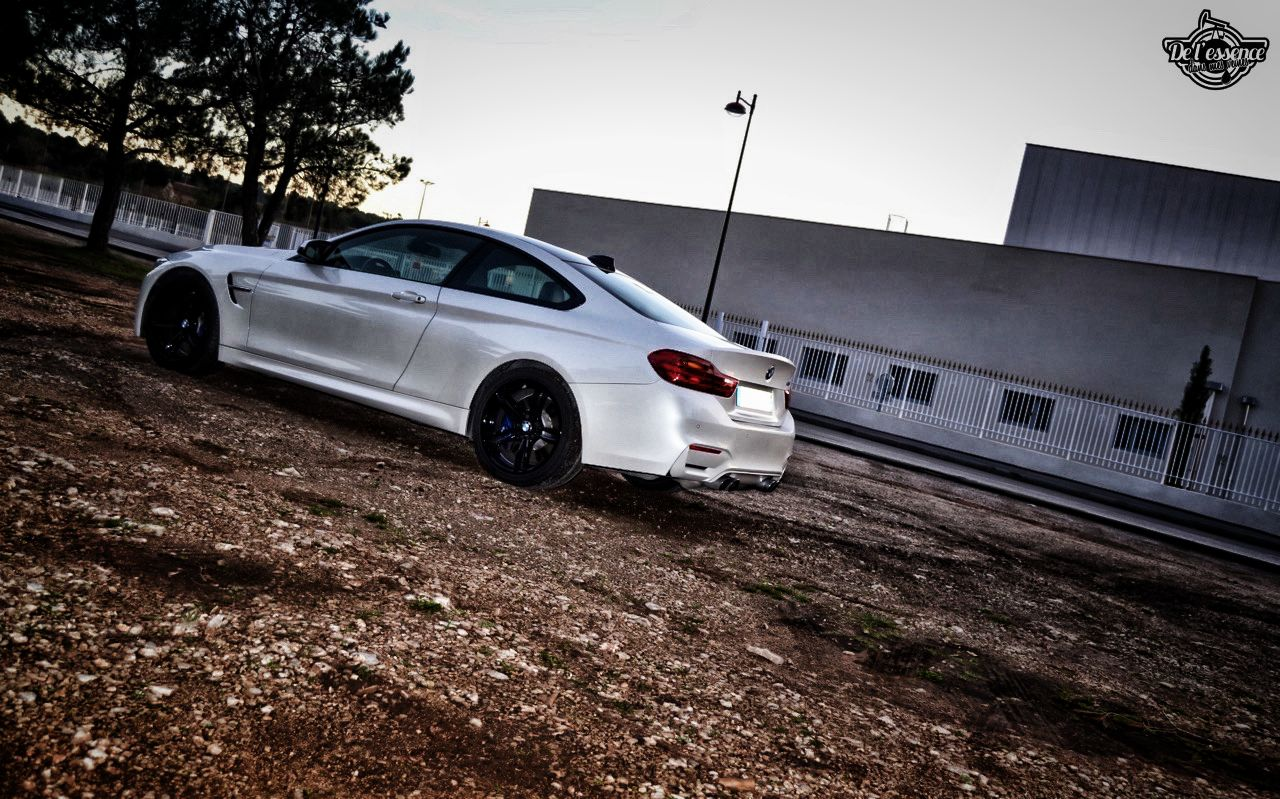 BMW M4 de 580 ch... Stage 3 et Pop & Bang ! 48