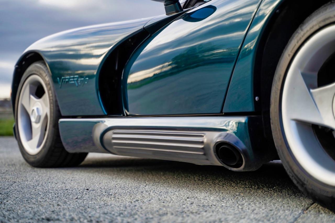 Dodge Viper Hennessey Venom 550 - Une question de pied droit ! 6