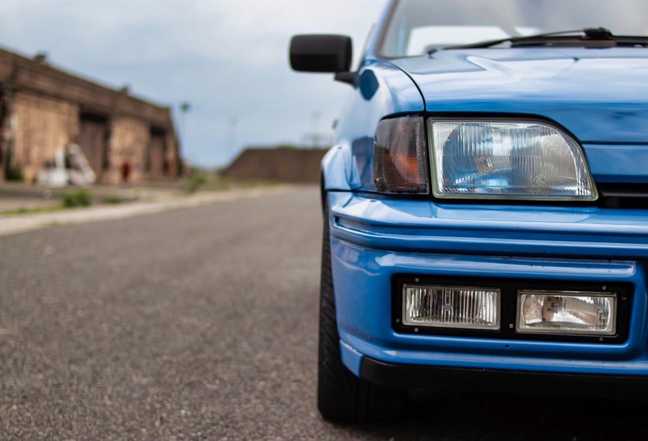 Ford Fiesta MkIII XR2i - L'art du camouflage ! 12