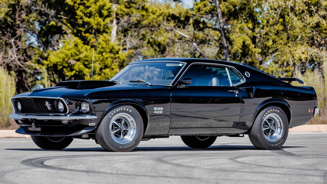 '69 Ford Mustang Boss 429 Fastback... Paul Walker roulait aussi en ricaine ! 36