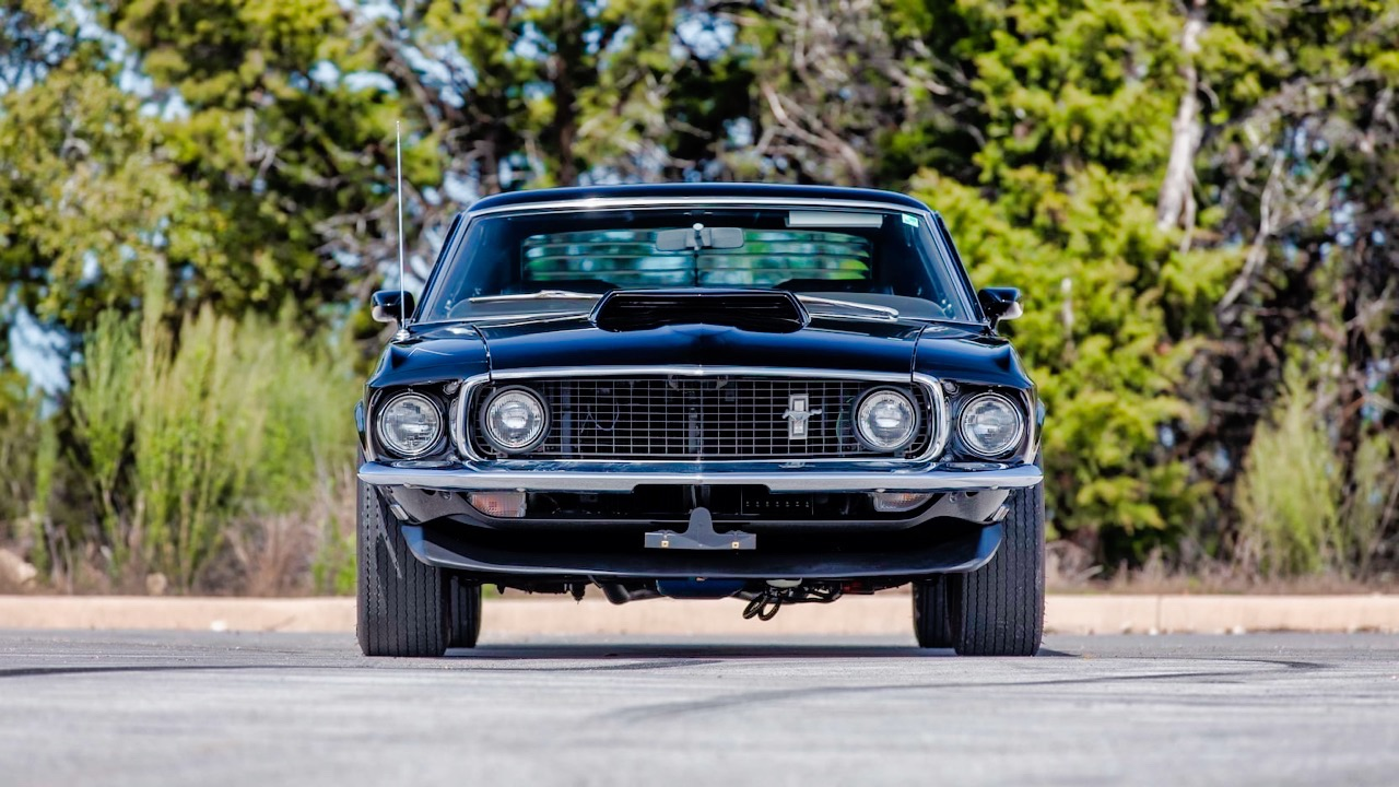'69 Ford Mustang Boss 429 Fastback... Paul Walker roulait aussi en ricaine ! 32