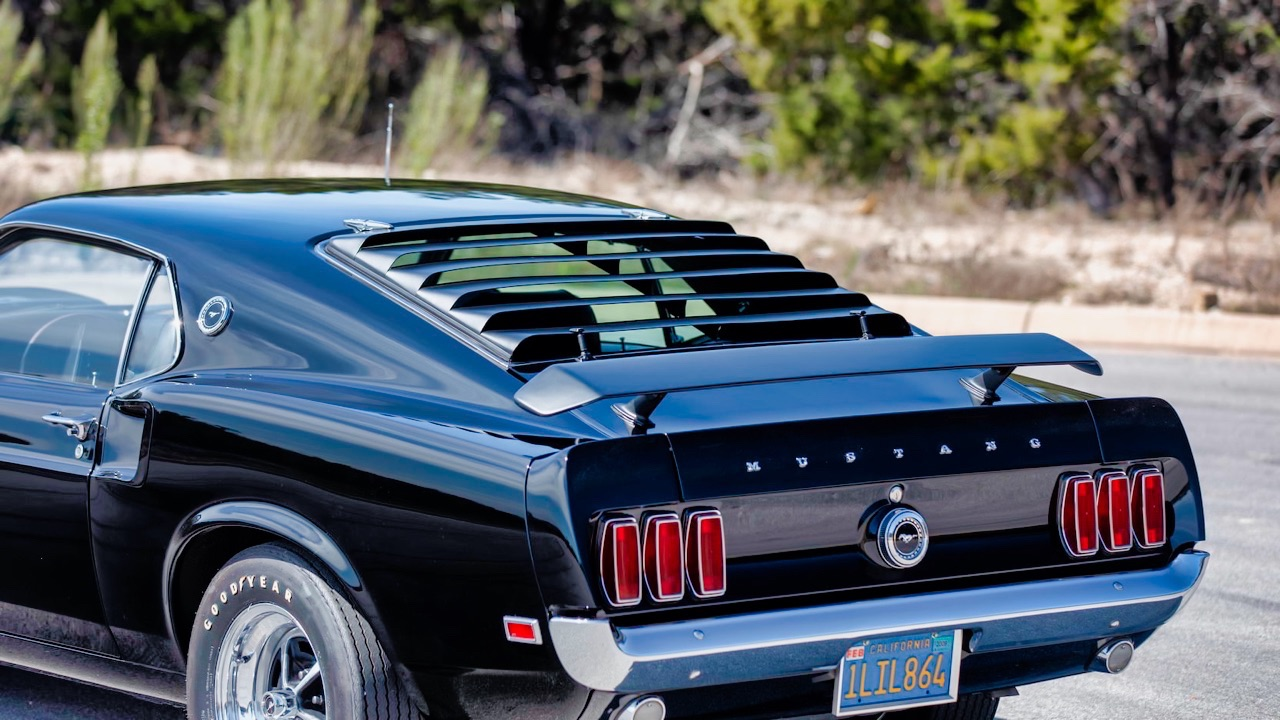 '69 Ford Mustang Boss 429 Fastback... Paul Walker roulait aussi en ricaine ! 31