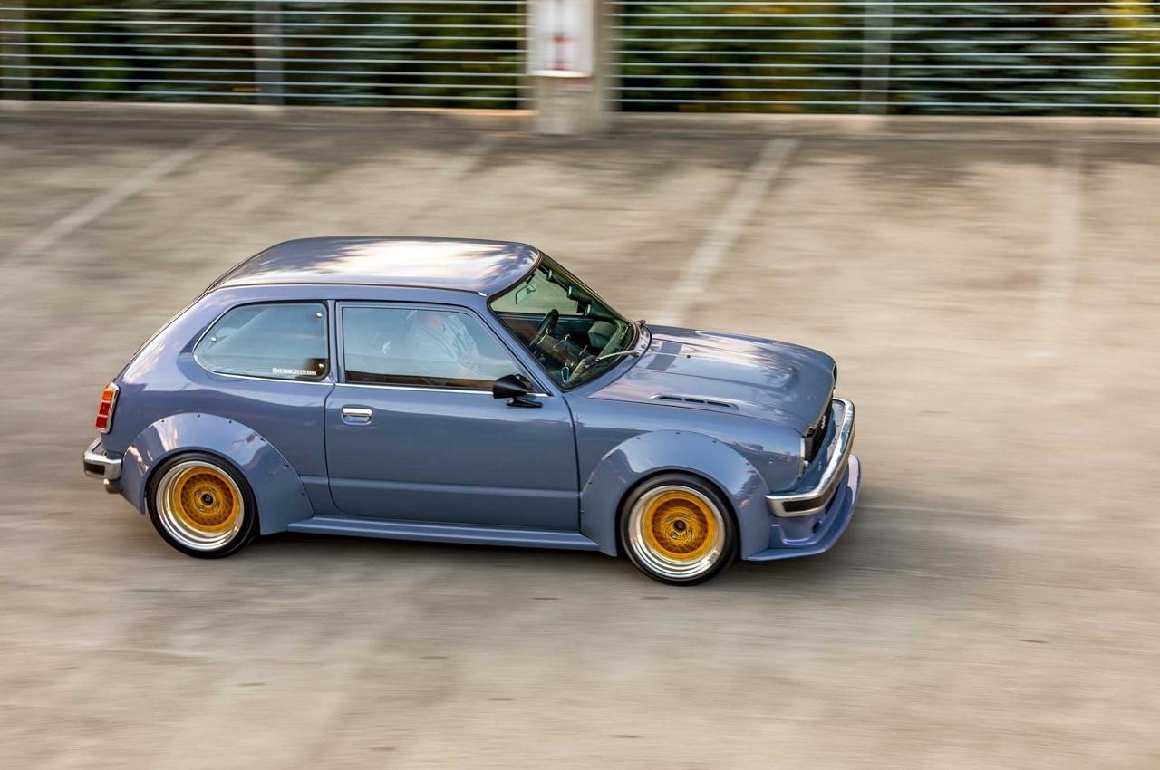 '78 Honda Civic Mk1 - D16 Turbo ! Super sushi... 6