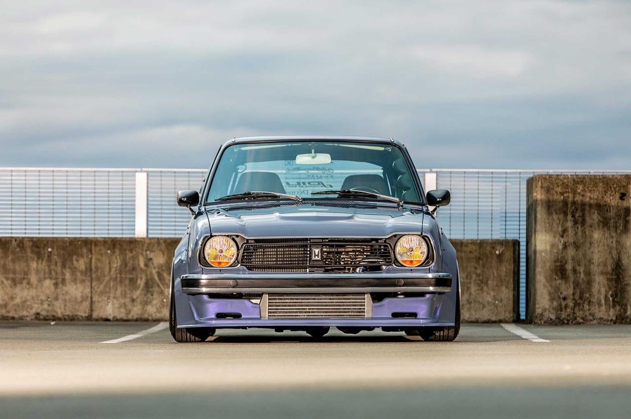 '78 Honda Civic Mk1 - D16 Turbo ! Super sushi... 7