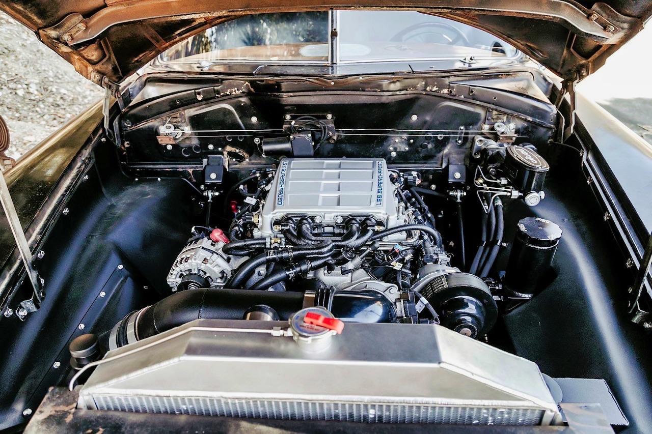 '49 Hudson Commodore coupé... Un sorti de grange de 647 ch signé Icon ! 7