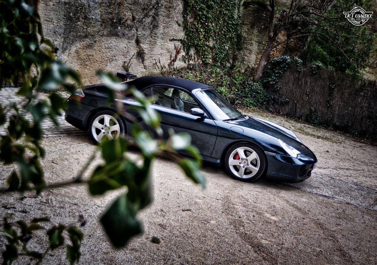 Porsche 996 Carrera 4S Cab... 5 sur 5 ! 14