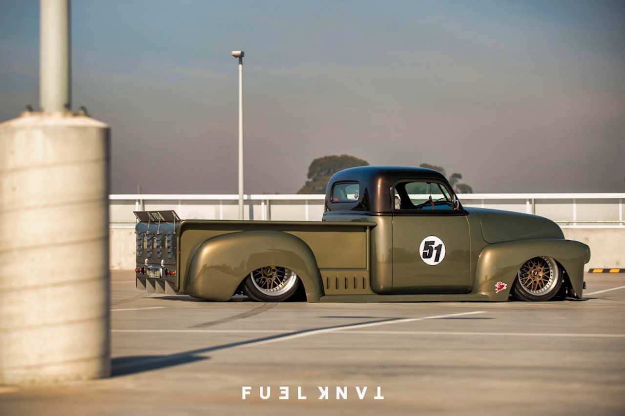 '51 Chevy Pickup... Highway to hell ! 1
