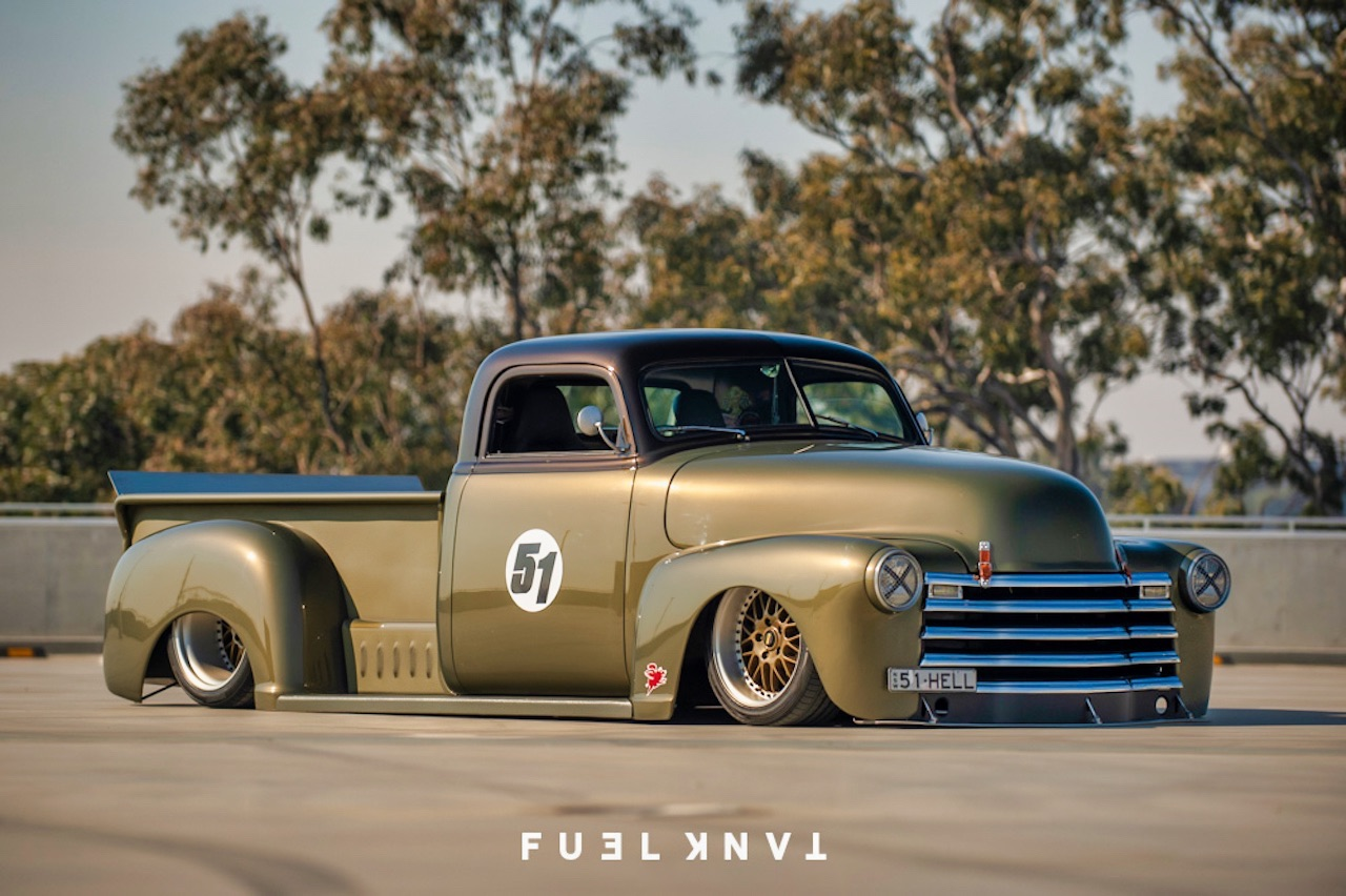 '51 Chevy Pickup... Highway to hell ! 2
