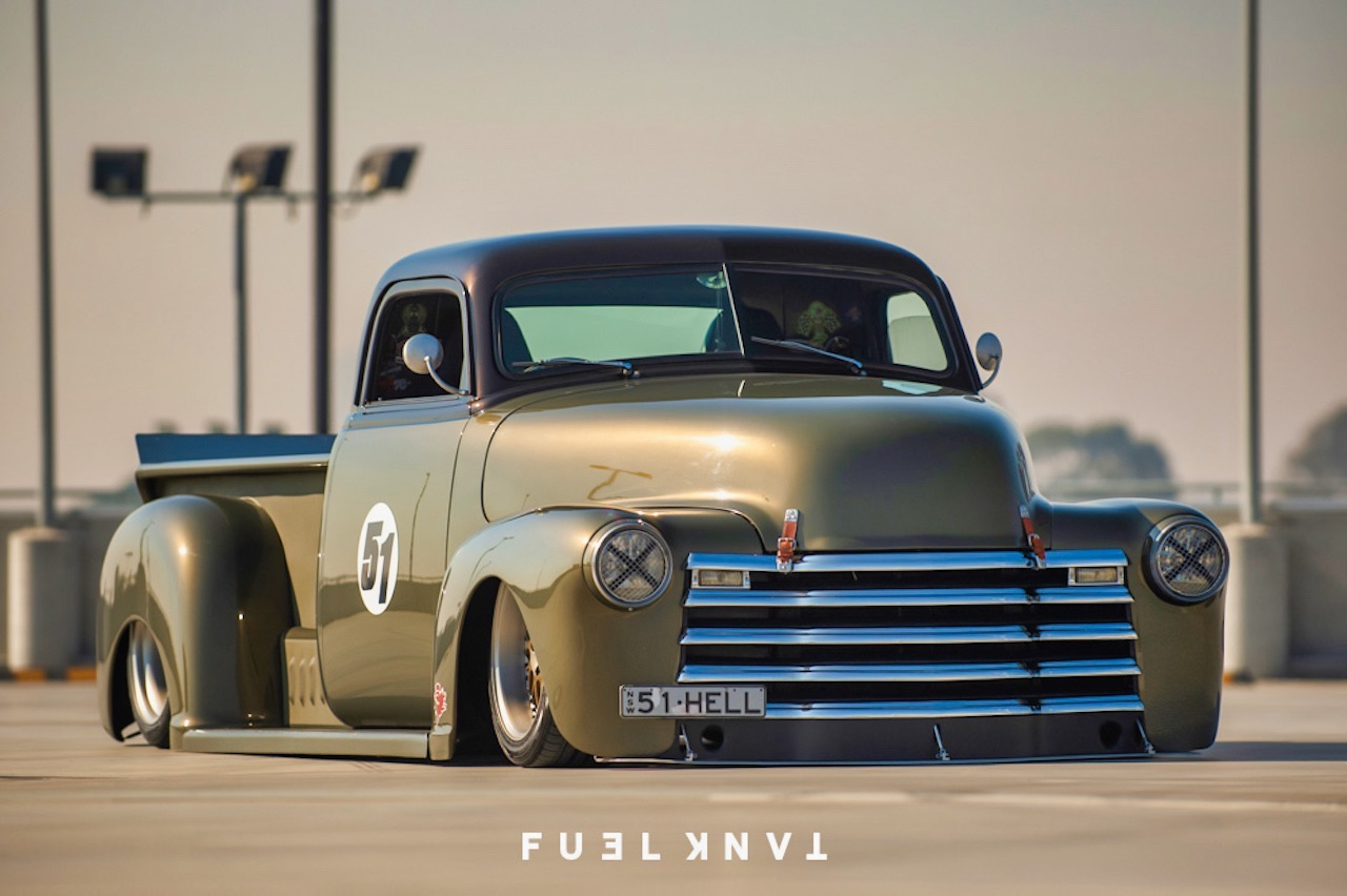 '51 Chevy Pickup... Highway to hell ! 22