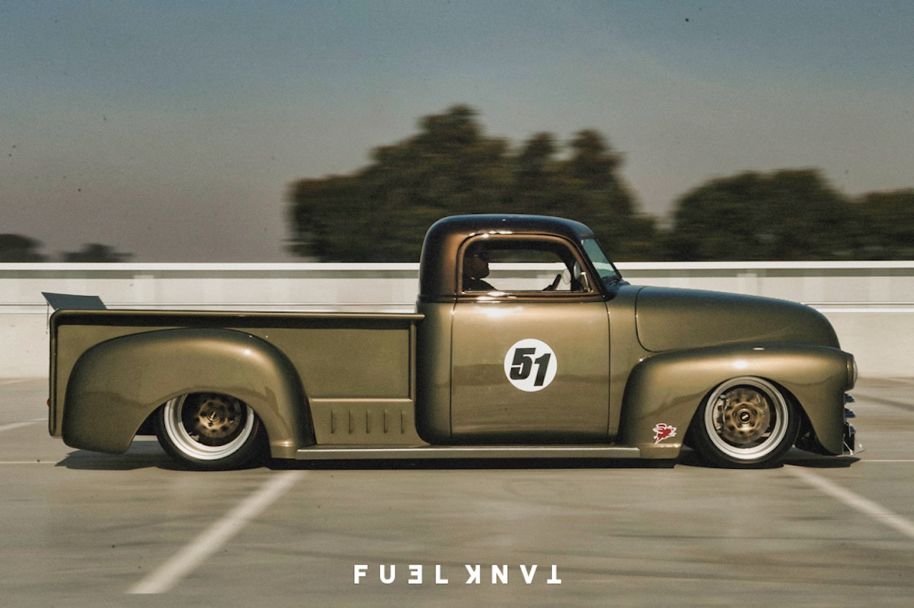 '51 Chevy Pickup... Highway to hell ! 16