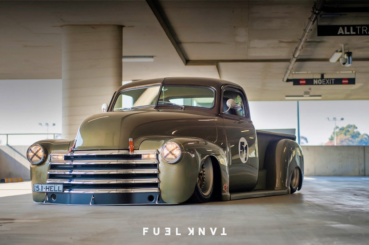 '51 Chevy Pickup... Highway to hell ! 6
