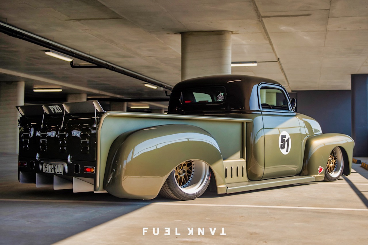 '51 Chevy Pickup... Highway to hell ! 12