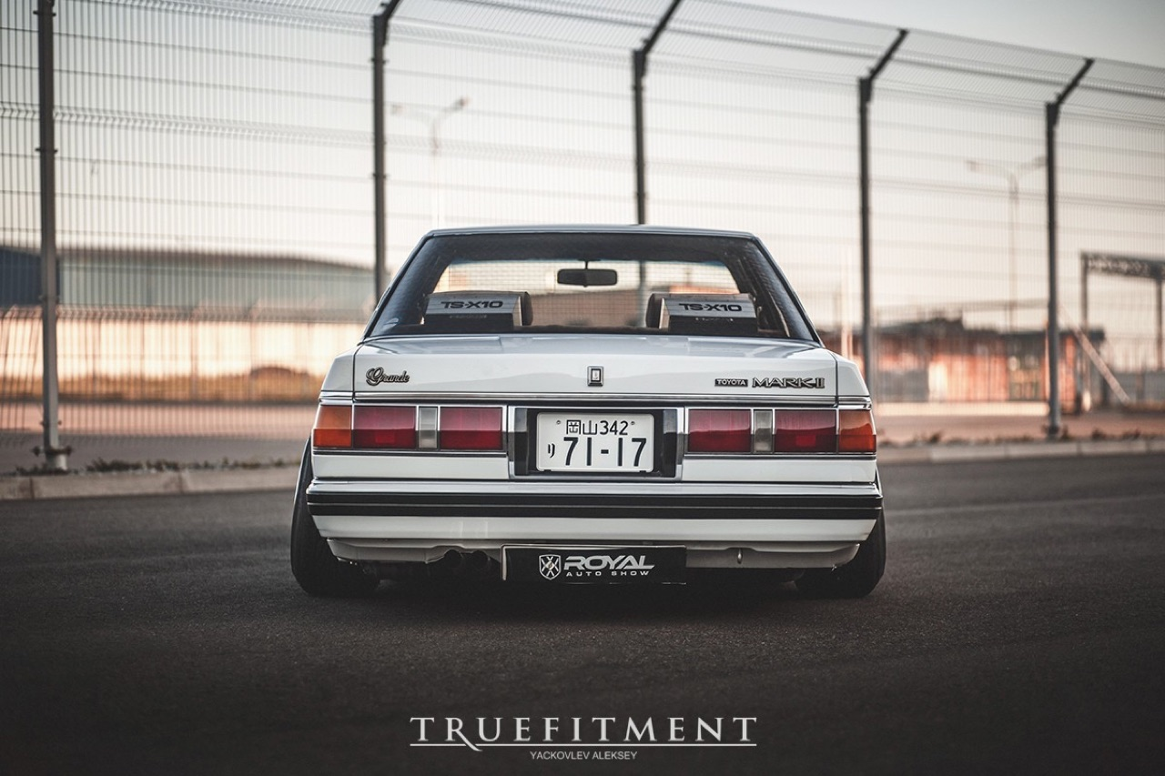 Bagged Toyota Mark II - Tsar Japonaise ! 11