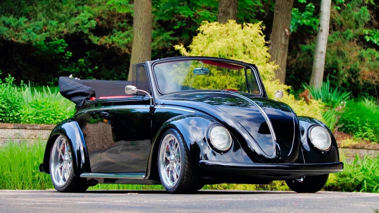 66 VW Cox cab... En rouge et noir ! 16