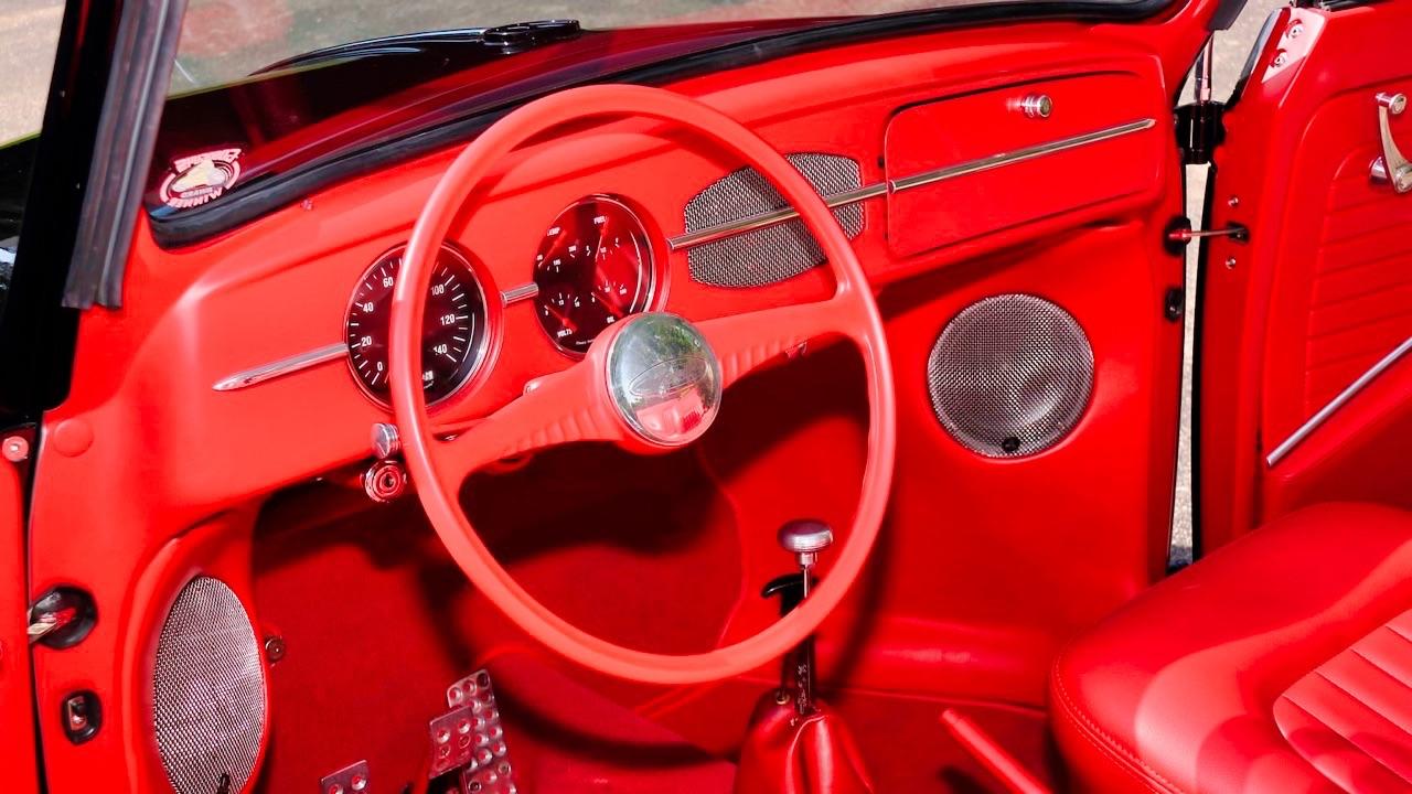 66 VW Cox cab... En rouge et noir ! 14