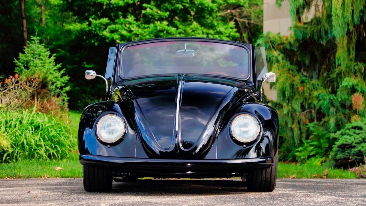 66 VW Cox cab... En rouge et noir ! 5