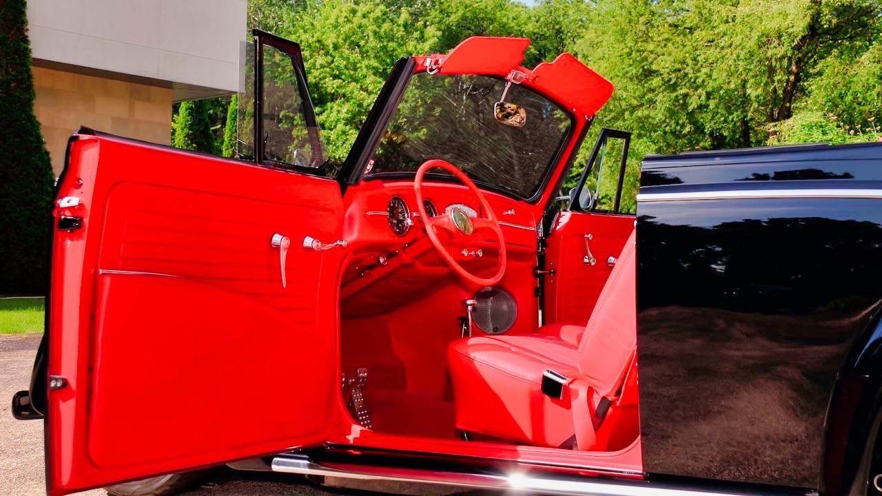 66 VW Cox cab... En rouge et noir ! 4