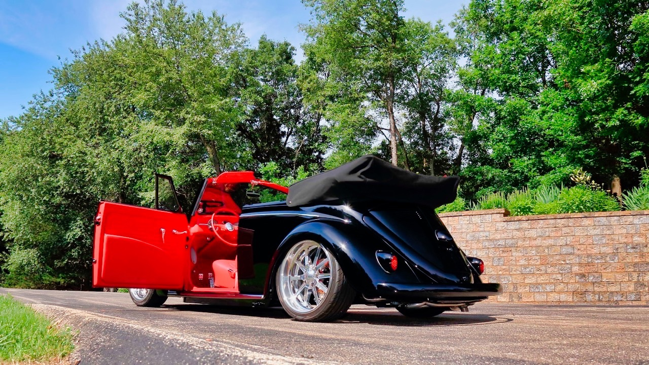 66 VW Cox cab... En rouge et noir ! 10