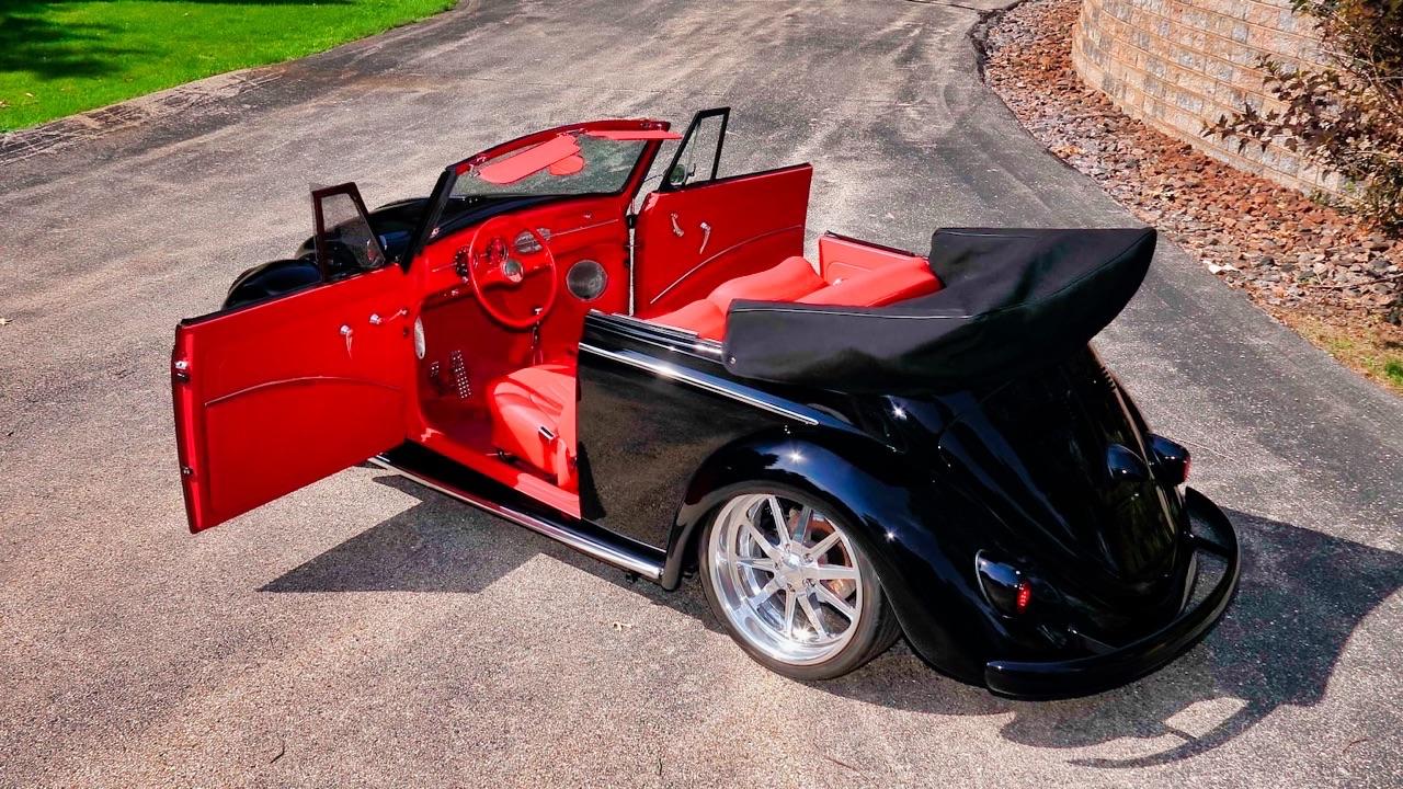 66 VW Cox cab... En rouge et noir ! 11