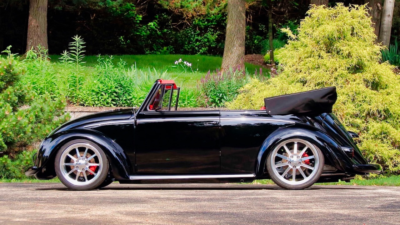 66 VW Cox cab... En rouge et noir ! 2