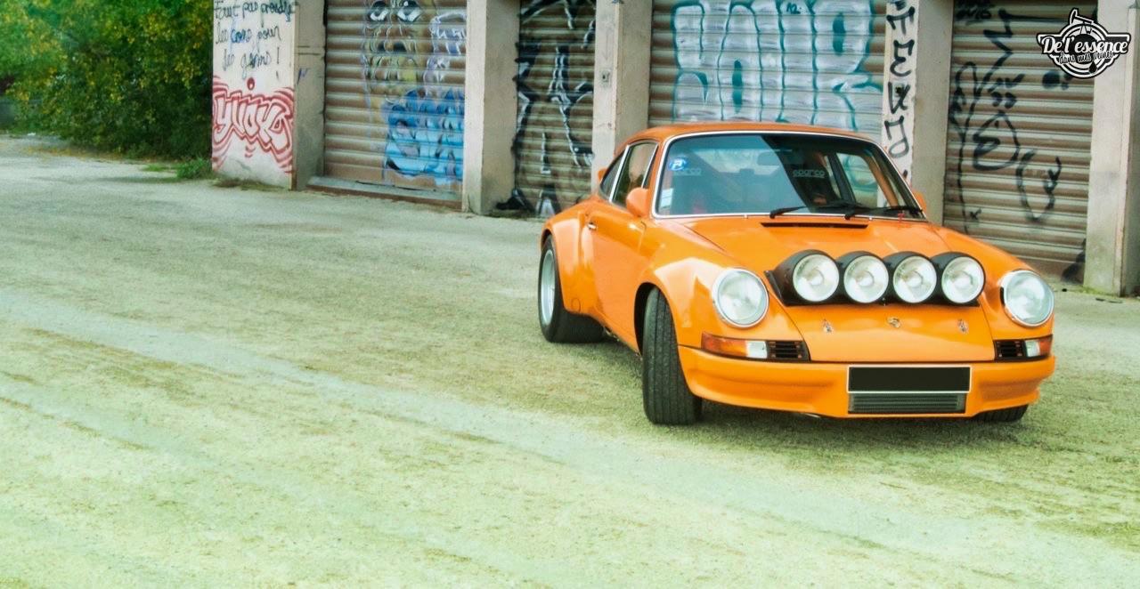 '72 Porsche 911 2.4 passée en mode RSR... C'est bon, c'est bio ! 20