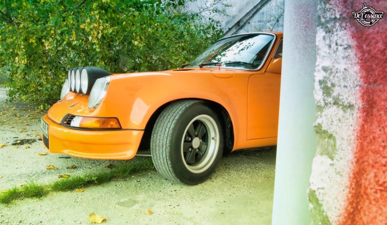 '72 Porsche 911 2.4 passée en mode RSR... C'est bon, c'est bio ! 4