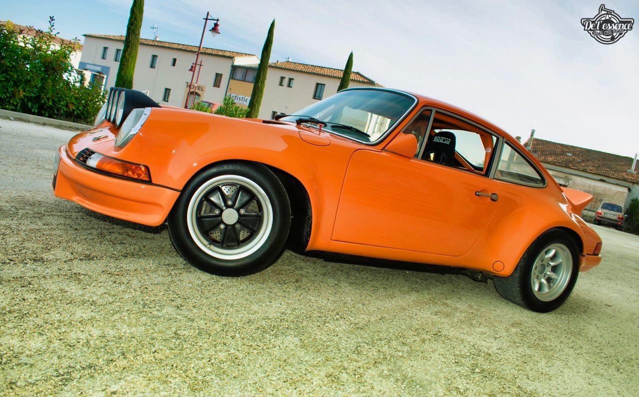 '72 Porsche 911 2.4 passée en mode RSR... C'est bon, c'est bio ! 10