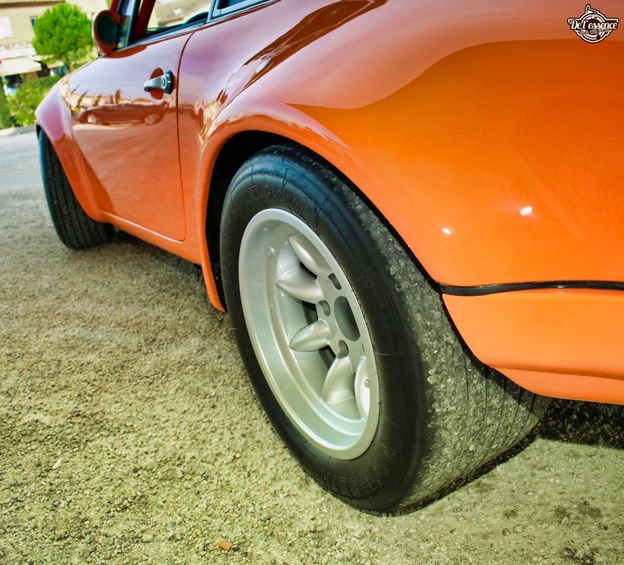 '72 Porsche 911 2.4 passée en mode RSR... C'est bon, c'est bio ! 15