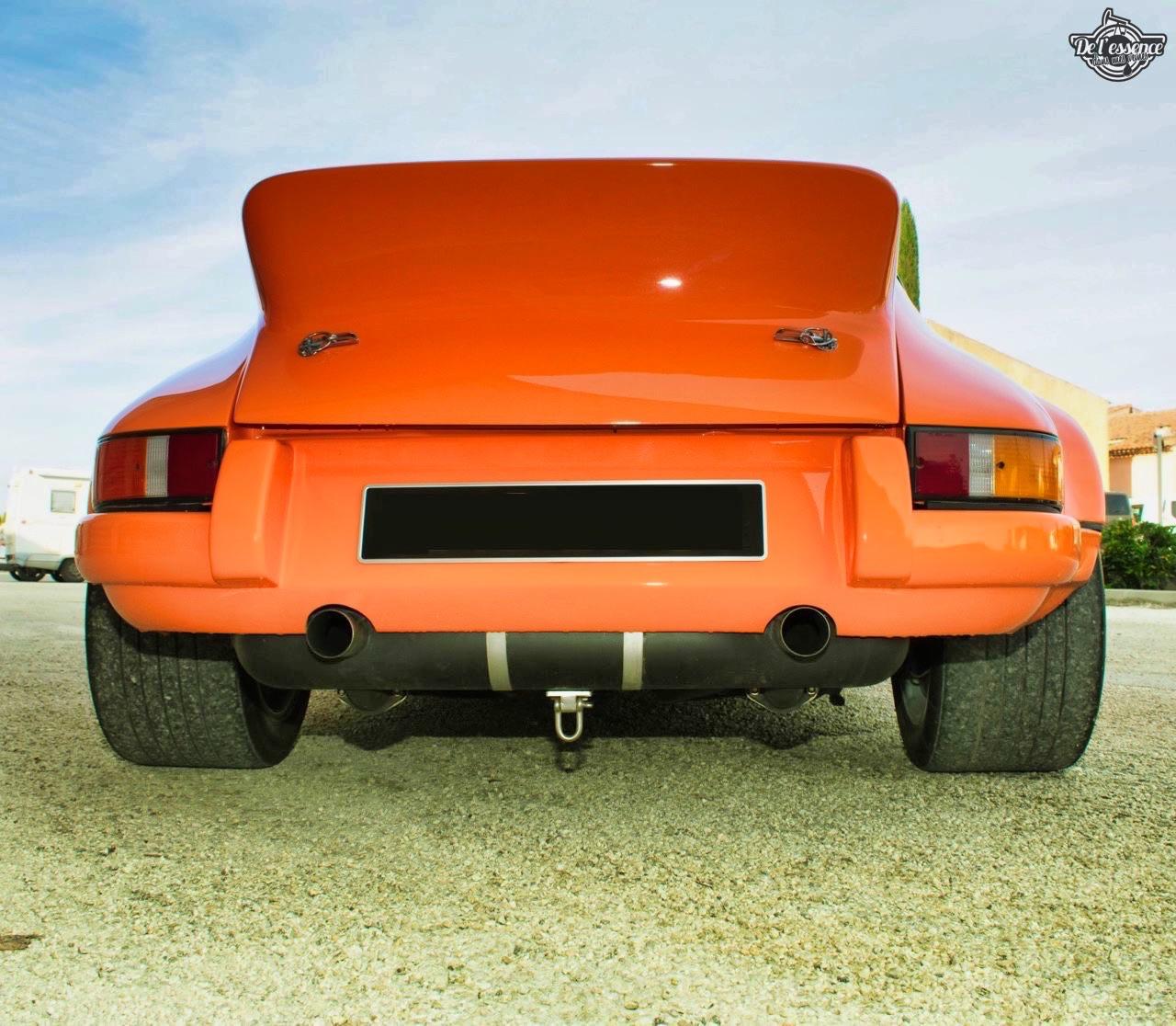 '72 Porsche 911 2.4 passée en mode RSR... C'est bon, c'est bio ! 8
