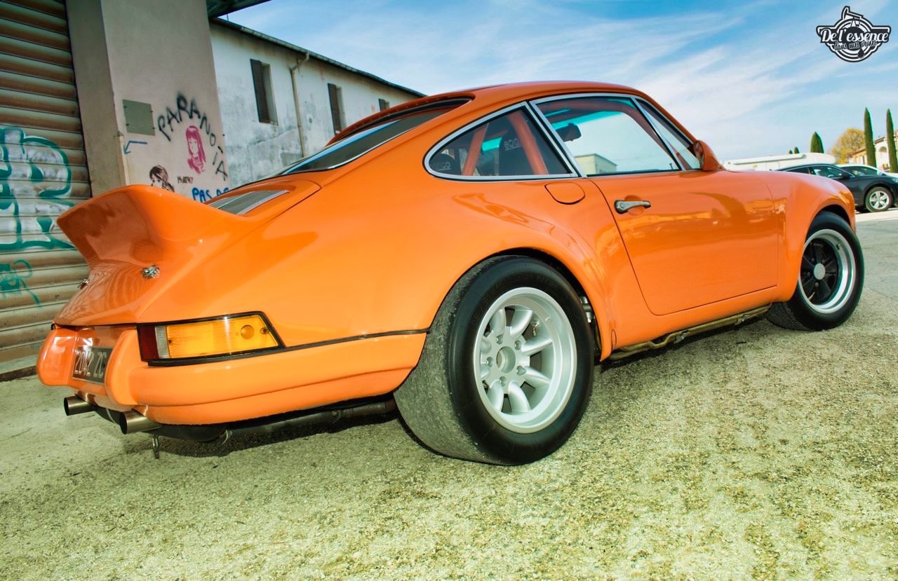 '72 Porsche 911 2.4 passée en mode RSR... C'est bon, c'est bio ! 7