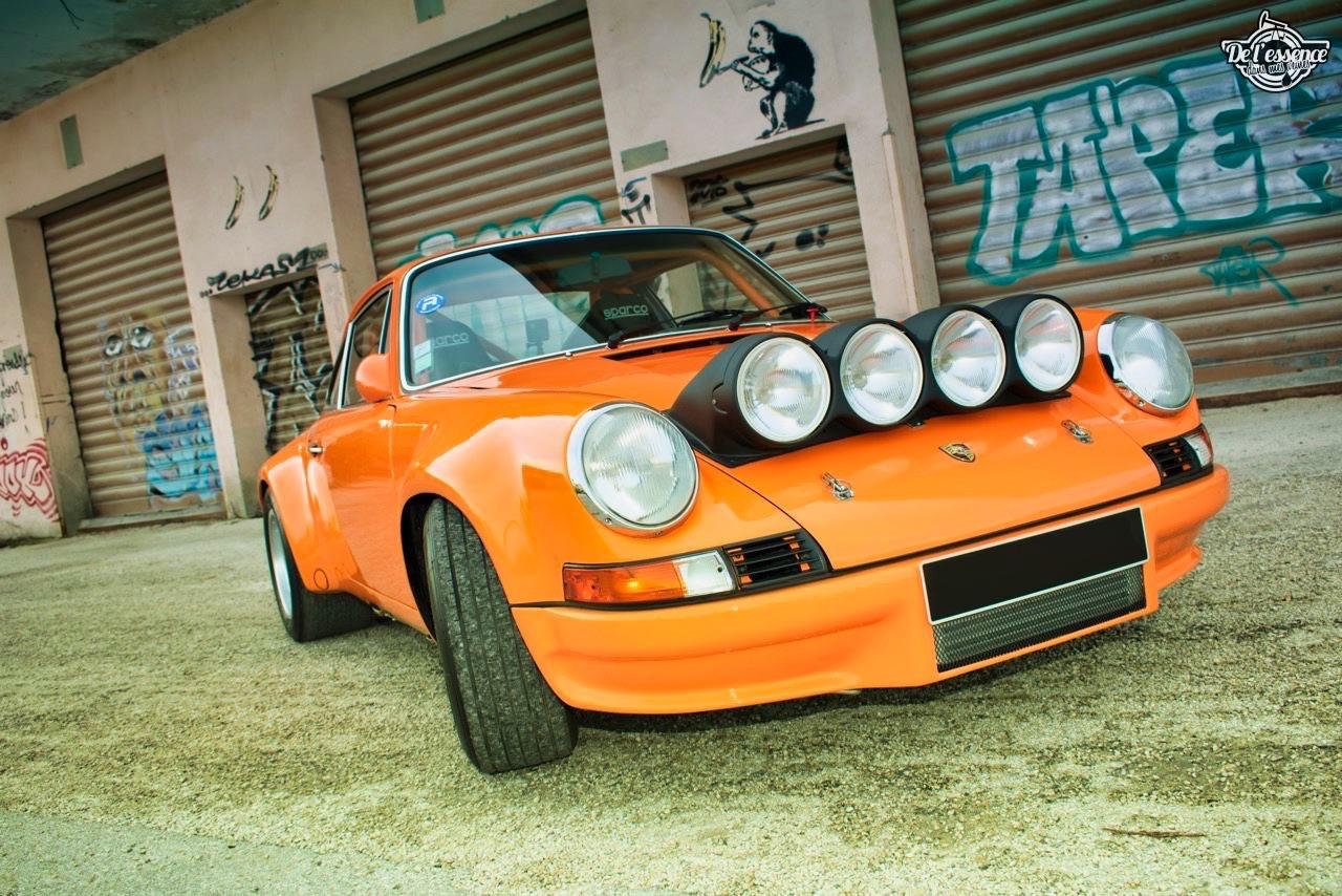 '72 Porsche 911 2.4 passée en mode RSR... C'est bon, c'est bio ! 9