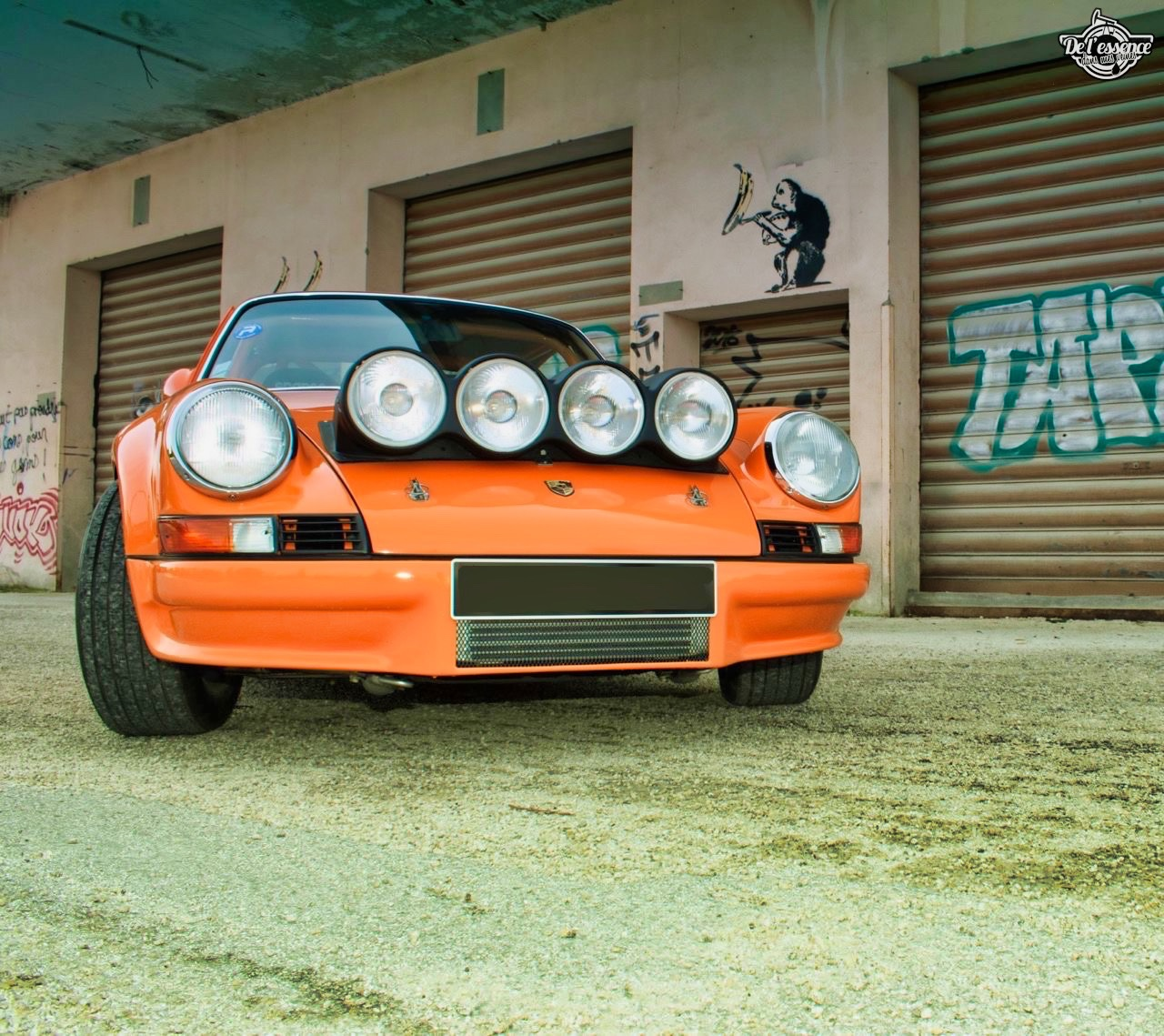 '72 Porsche 911 2.4 passée en mode RSR... C'est bon, c'est bio ! 5