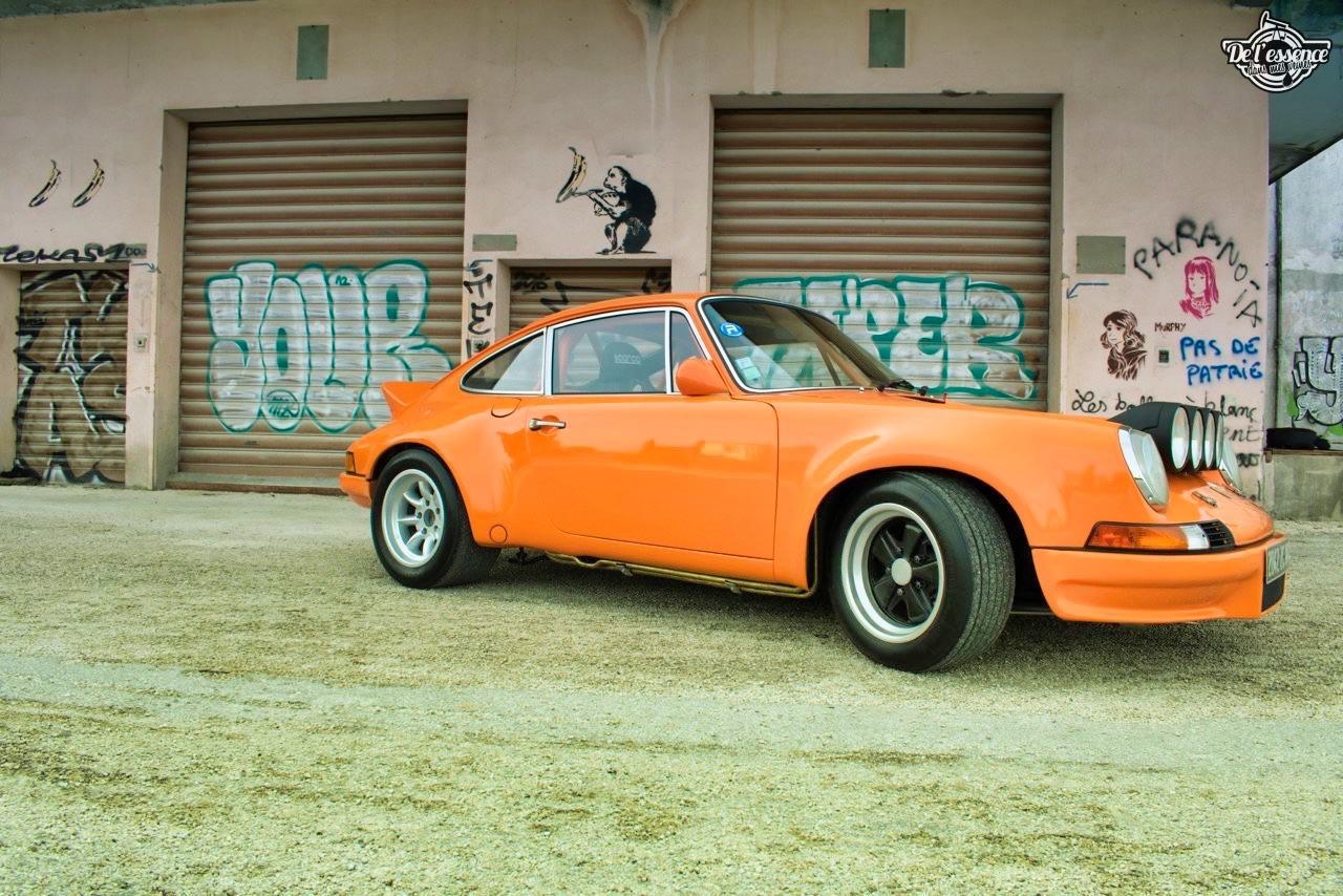 '72 Porsche 911 2.4 passée en mode RSR... C'est bon, c'est bio ! 6
