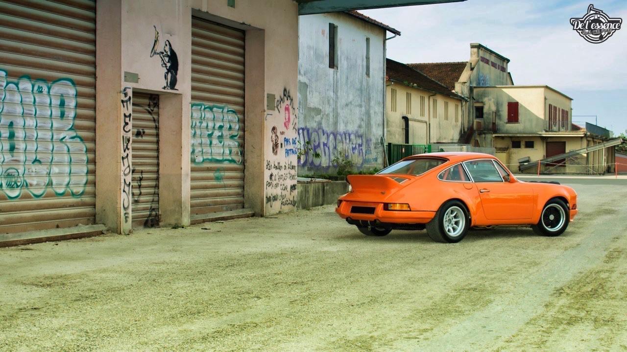 '72 Porsche 911 2.4 passée en mode RSR... C'est bon, c'est bio ! 3
