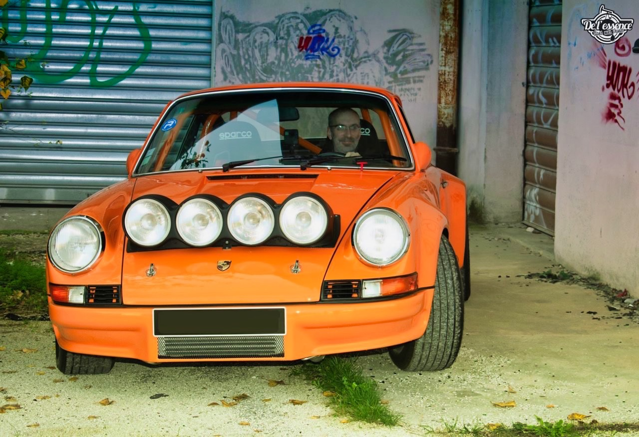 '72 Porsche 911 2.4 passée en mode RSR... C'est bon, c'est bio ! 18