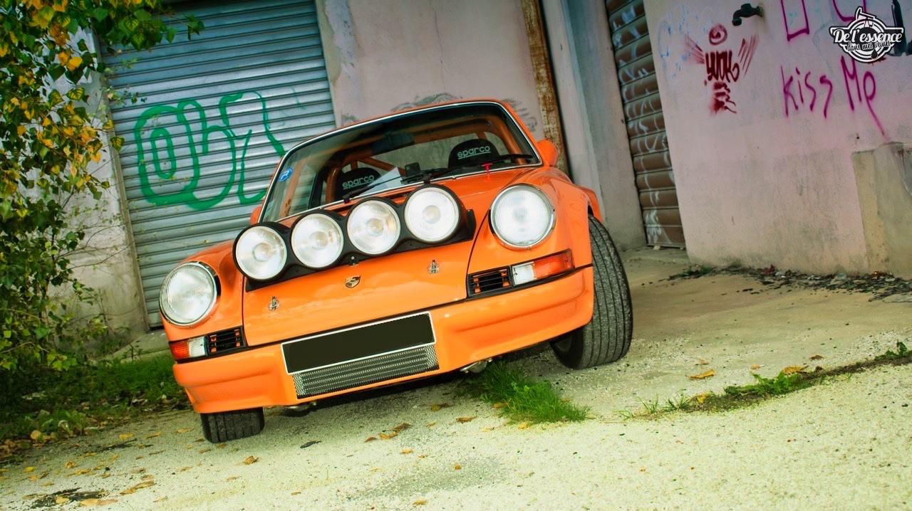 '72 Porsche 911 2.4 passée en mode RSR... C'est bon, c'est bio ! 17