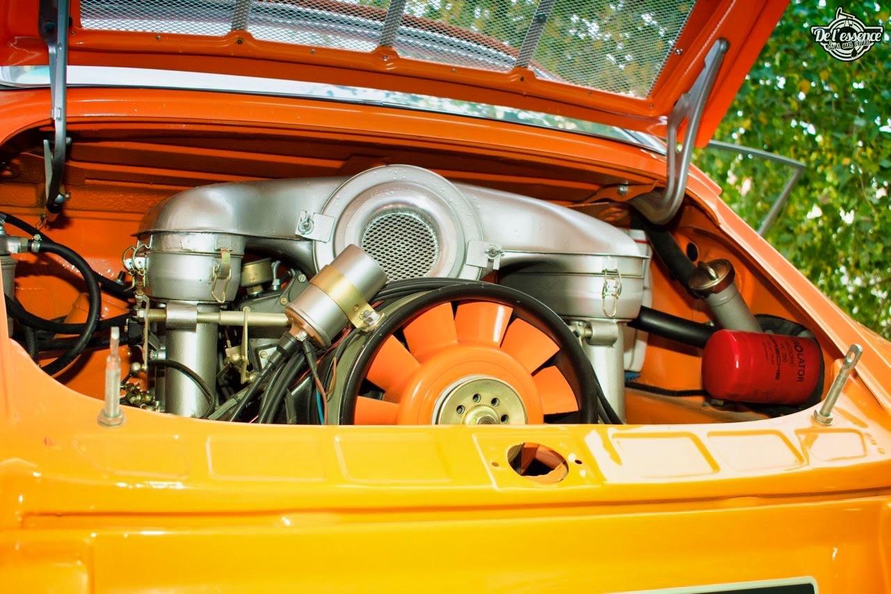 '72 Porsche 911 2.4 passée en mode RSR... C'est bon, c'est bio ! 12