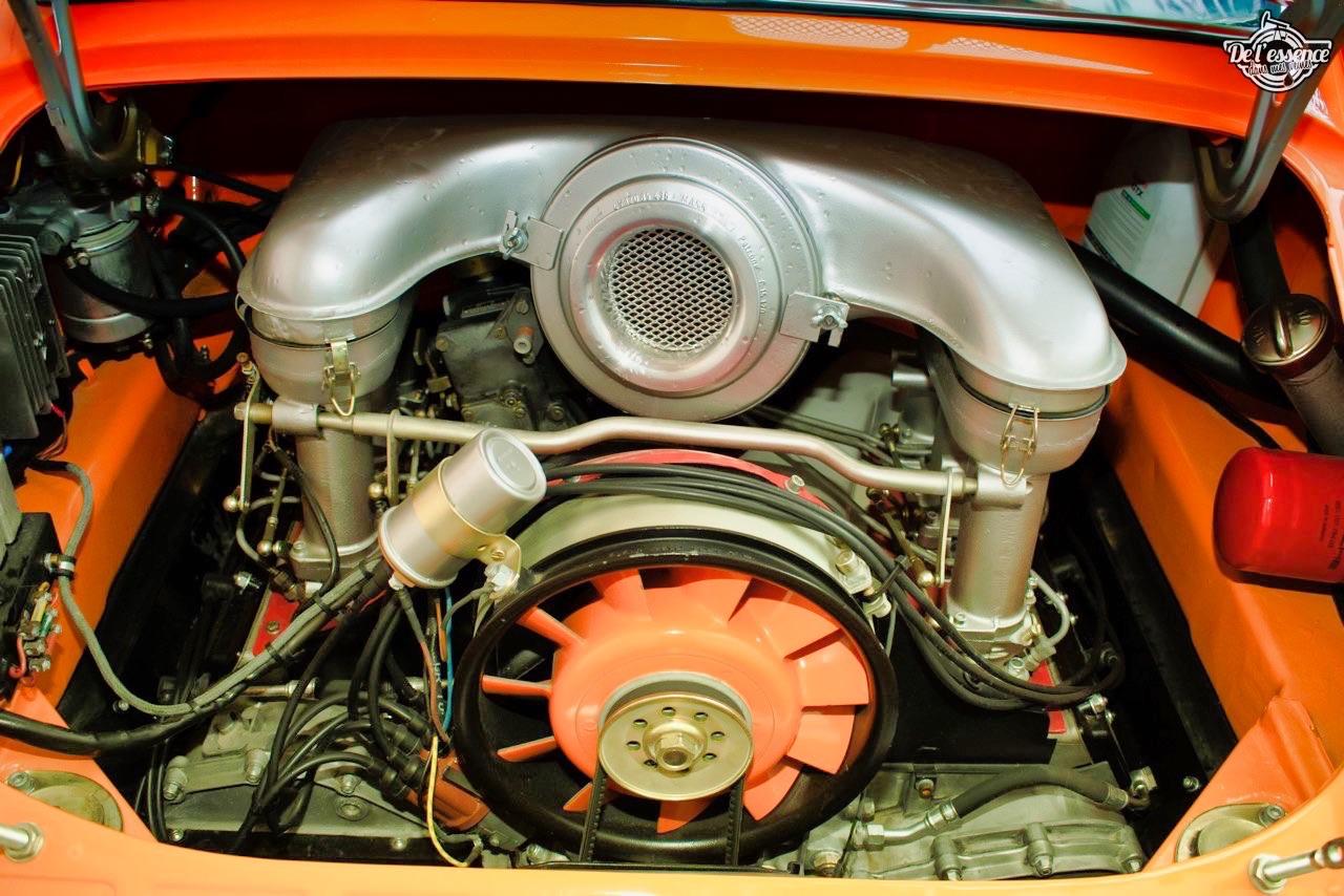 '72 Porsche 911 2.4 passée en mode RSR... C'est bon, c'est bio ! 11