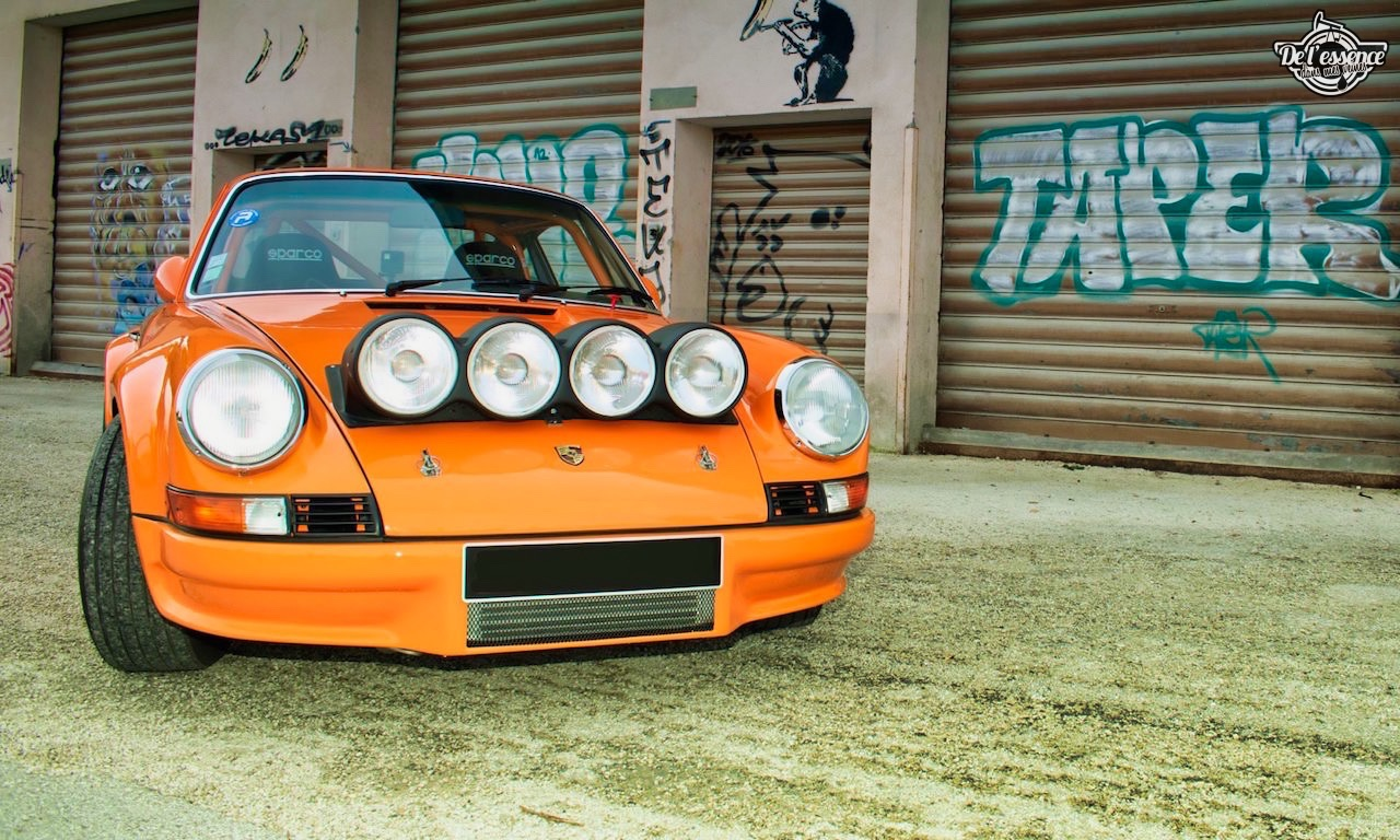'72 Porsche 911 2.4 passée en mode RSR... C'est bon, c'est bio ! 2