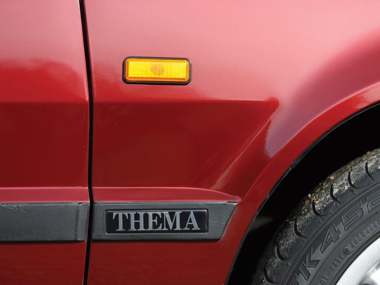 Lancia Thema 8.32 de 1991 - Costard, champagne... Et frustration ! 26